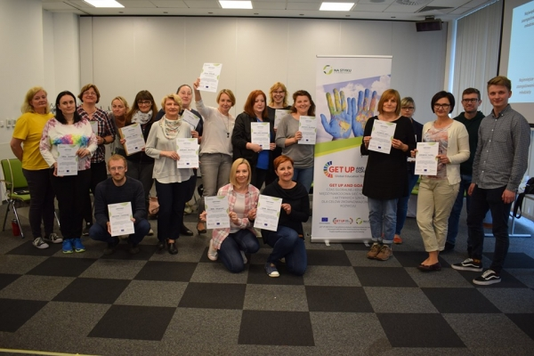 The new activities of Get Up and Goals in Poland