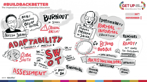 #Buildbackbetter: a look back at our final event
